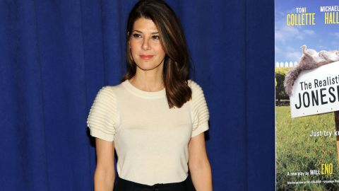 """Aunt May is not exactly a superhero -- but she's certainly super in the world of Peter Parker and """"Spider-Man."""" Marisa Tomei plays the important role of Parker's adoptive mother in the new """"Spider-Man"""" films."""