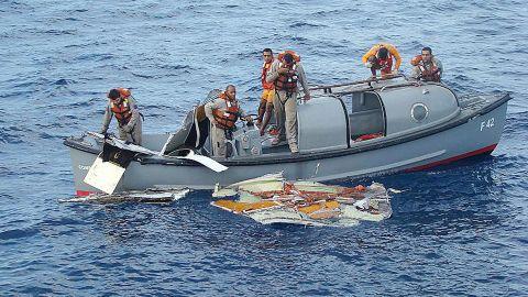 Pieces of Air France Flight 447 were recovered from the Atlantic in June 2009.