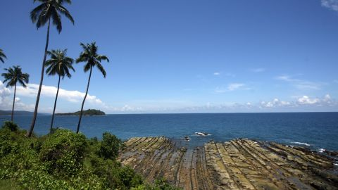 Port Blair in the Andamans.