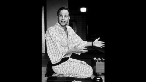 """Marlon Brando was cast as Sakini, a local from Okinawa, in the 1956 comedy """"The Teahouse of the August Moon."""""""