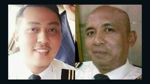 The pilots of Malaysia Airlines Flight 370 are Forst Officer Gambar Fariq Abdul Hamid, left, and Captain Zaharie Ahmad Shah at right.