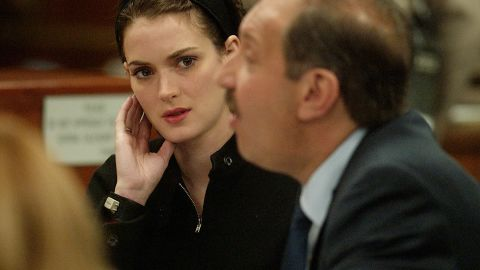 """In December 2002, actress and fashion darling<a href=""""http://archives.cnn.com/2002/LAW/12/06/ryder.sentencing/""""> Winona Ryder was sentenced</a> to three years probation and 480 hours of community service for shoplifting from Saks Fifth Avenue. She was also ordered to pay more than $10,000 in fines and get drug and psychological counseling."""