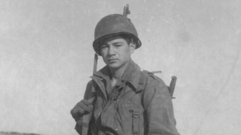 Cpl. Victor H. Espinoza was awarded the Medal of Honor for his actions on August 1, 1952, during what became known as the third Battle of Old Baldy in Chorwon, Korea. With his unit pinned down by enemy forces, Espinoza single-handedly took out a machine gunner and his crew, discovered and destroyed an enemy tunnel, and wiped out two bunkers.
