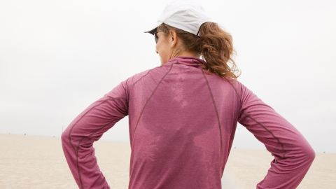 Sweating doesn't equate to calories burned. It might be the result of a hot room, the weather or your physiology.