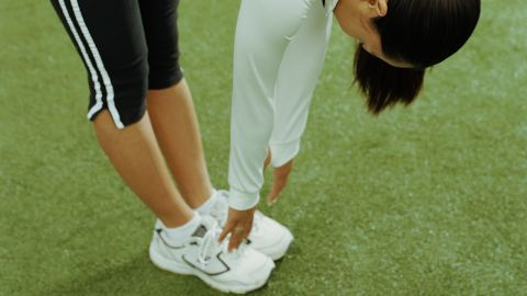 Stretching after exercise won't completely reduce soreness or speed muscle tissue repair, but can increase joint flexibility.