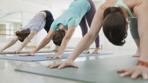 Yoga improves strength and flexibility, but it doesn't burn as many calories as aerobic exercise, researchers say.