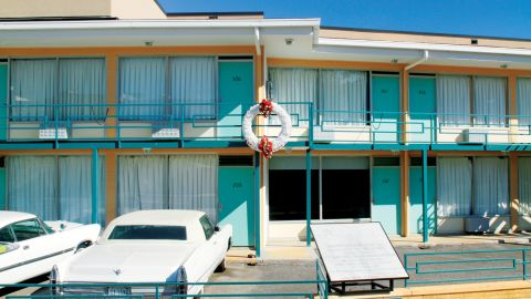<strong>Lorraine Motel (Memphis, Tennessee):</strong> On April 4, 1968, Martin Luther King Jr. was shot while standing on the balcony of the Lorraine Motel. He was in Memphis to lead a protest in support of striking city workers. The site is now the National Civil Rights Museum.