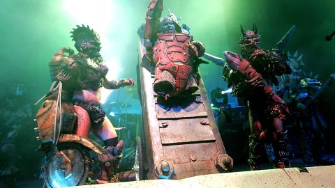 The Grammy-nominated band built a cult following with its elaborate costumes and obscene stage show.