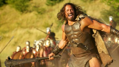 """Moviegoers gave thumbs down to <strong>""""Hercules,""""</strong> a sword-and-sandals film based on the Greek myth (and a Steve Moore comic). It made $70 million, despite the presence of star Dwayne """"the Rock"""" Johnson and director Brett Ratner."""