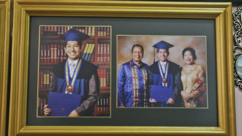 Firman Chandra Siregar, 24, studied electrical engineering in Indonesia and was on his way to Beijing on board Flight 370 to start a new job at an oil company.