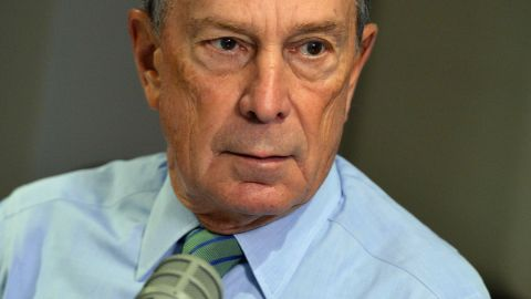 Bloomberg founder Michael Bloomberg seen here in 2013 in New York City