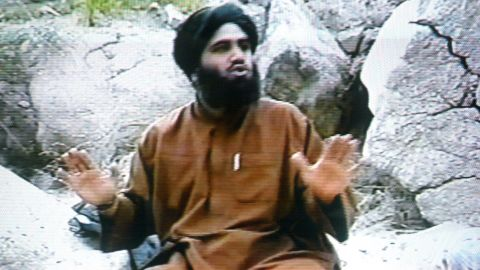 Osama bin Laden's son-in-law Suleiman Abu Ghaith, shown here in a frame grab from the Saudi-owned television network MBC, was found guilty Wednesday in New York of helping al Qaeda terrorists conspire to kill Americans and providing material support to terrorists.