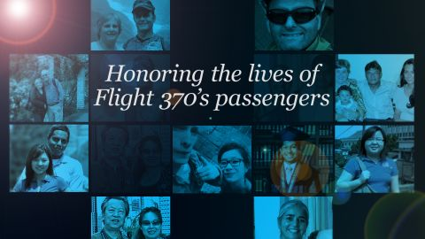 There is still no way to know for sure why Flight MH370 ended, but we are learning more about the lives of those on board. CNN is remembering them through snapshots shared with us.