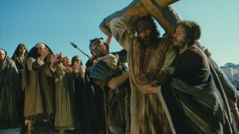 """<strong>""""The Passion of the Christ"""" (2004):</strong> The Mel Gibson-directed drama caused a box office firestorm when it hit theaters. The film depicts the last 12 hours of Jesus' life and draws on various accounts to do so. The financial success drew criticism for its gruesome violence as well as from Catholic Church groups over the authenticity of the non-biblical material it drew upon. Some upset parties felt that Gibson deliberately departed from biblical accounts of Christ's crucifixion."""