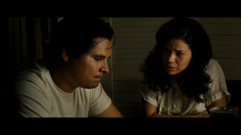Michael Peña and America Ferrera as Cesar and Helen Chavez.