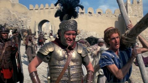 """<strong>Monty Python's """"Life of Brian"""" (1979): </strong>This British satire has become a staple of the Monty Python canon. The film drew accusations of blasphemy and protests from religious groups upon its release. It was banned from some parts of the United Kingdom, and some countries entirely, for decades. In typical Monty Python fashion, the filmmakers used the negative attention to assist their marketing campaign. It must have helped, as """"'Life of Brian"""" became a box office success."""
