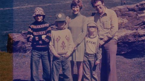 Family photo shows Richard Sherrington (far right) in a family photo. Tom is second from left.