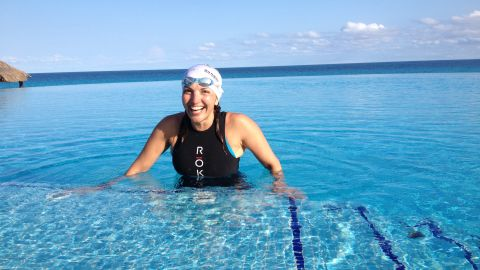 In 2014, Norma Bastidas, then-47, was gearing up to break the record for the world's longest triathlon. In her journey from Cancun, Mexico, to Washington, Bastidas hoped to swim 95 miles ...