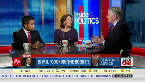 """Inside Politics: Is W.H. """"Cooking the Books""""?_00005101.jpg"""