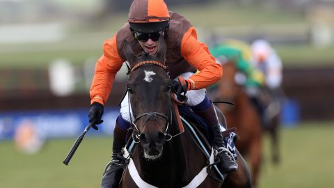 Waley-Cohen will be in the orange and brown colors of his father Robert when he takes to the start for the Britain's Grand National race.
