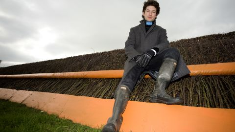 He likens riding in the Grand National, the most prestigious steeplechase in the world, to being a fighter pilot.