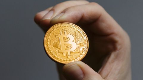 Bitcoin is a digital cryptocurrency unregulated by a central bank. Its value -- like many real-world currencies -- is determined by how much people are willing to use it. Consequently, its worth goes up and down.