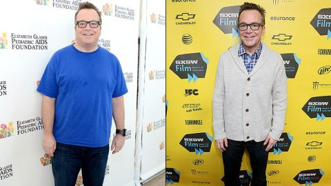 """Tom Arnold has lost about 90 pounds since his first child was born in 2013, and he was looking quite thin at the 2014 South by Southwest festival. He'd actually lost the same amount of weight before but regained it when he didn't maintain healthier habits. After his son was born, he knew he needed to make a lasting change. """"I saw that little baby, and I thought, 'I gotta stay alive for as long as possible,' """" Arnold said. """"That's a lifelong commitment."""""""