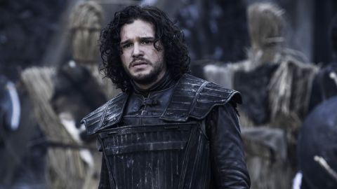 <strong>Jon Snow (Kit Harington)</strong>: From bastard son to wildling lover, Jon Snow and his immaculate medieval tresses have had quite the journey. Jon vowed to be loyal to the Night's Watch -- the ragtag group who stand guard at the icy Wall on high alert for the fantastical (the zombie-like White Walkers) and the free (wildlings) -- and he's held true to that promise even after a detour in the arms of wildling Ygritte. Sadly, by the end of season 4, that romance is dead, and by the end of season 5, Snow appears to be, also.