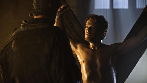 """<strong>Theon Greyjoy (Alfie Allen): </strong>If you find yourself confused as to who exactly Theon Greyjoy is, don't feel bad: He is, too. Once the ward of the House of Stark, Theon betrayed those who were like family to him to claim a noble title that lasted for essentially a nanosecond. That led to Theon suffering as a prisoner and punching bag for Ramsay Bolton, who has the guy thinking his name is """"Reek."""""""