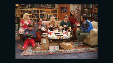 """The set of the hit comedy """"Big Bang Theory"""" is one of the most famous currently on TV and surrounded by symbols of nerddom. Members of the cast and crew shared their favorite parts of the set with CNN. Click through for a closer look."""