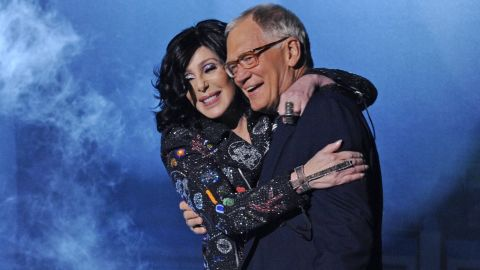 """Cher and Letterman have a storied past, as the singer seems to have a unique ability to confound the comedian. Once in 1996 she told him he looked like """"s---,"""" and generally gave him a hard time.  However, the singer has appeared on his show several times since, including in 2013, when she gave him a big hug after performing a song off her latest album."""