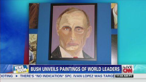 nr intv jerry saltz bush paints world leaders_00015717.jpg
