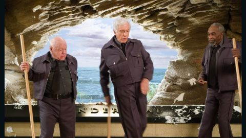 """Rooney appears in 2006's """"Night at the Museum"""" with Dick Van Dyke and Bill Cobbs."""