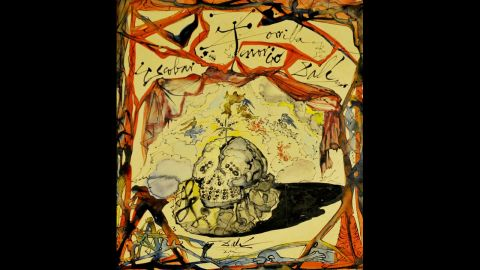 """A Salvador Dali painting stolen from a Manhattan art gallery by a man posing as a potential customer <a href=""""https://www.cnn.com/2012/06/30/justice/new-york-dali-painting/index.html"""" target=""""_blank"""">in 2012</a>. It was later intercepted by customs police after it was sent back to the United States from Greece."""