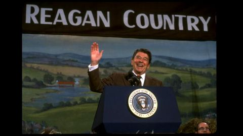 """Post-1979 has been called the """"Great Divergence."""" Some say that President Ronald Reagan's policy of supply-side economics, which reduced taxes for the rich, was a contributing factor."""