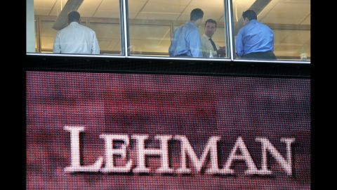 Lehman Brothers, which collapsed in September 2008, filed for the largest bankruptcy in U.S. history. Major financial institutions were bailed out by the government with a massive amount of taxpayer money.