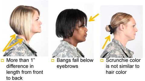 Additional hairstyle bans include long bangs and asymmetrical designs.