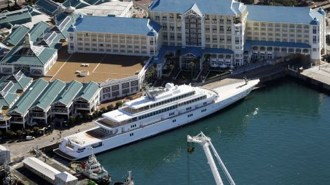 """The 138-meter (453-foot) yacht """"Rising Sun"""" was purchased by Larry Ellison of Oracle, who has been one of the nation's highest-paid executives. From the 1990s on, CEO compensation greatly outpaced the average compensation of workers."""