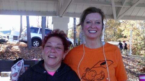 """""""The running community is one of the most supportive, nonjudgmental and uplifting I have ever had the pleasure to be a part of,"""" said <a href=""""http://ireport.cnn.com/docs/DOC-1063396"""">Heather Nees</a>, left, of Chesterfield, Virginia. Since pledging to """"Run for Boston,"""" she has completed two 5K's and an 8K, with another 5K coming up."""