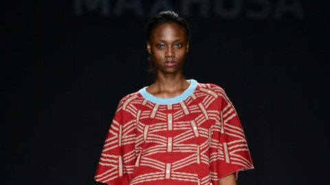 Although inspired to create formal wear for Xhosa men, Ngxokolo also designs women's wear.
