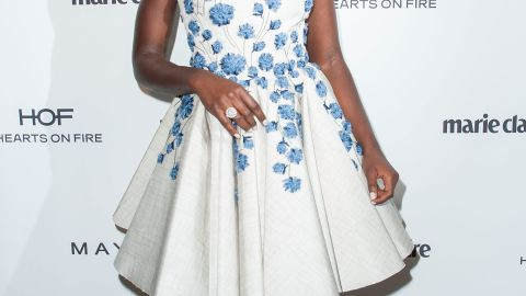 """The rumors about Academy Award-winning actress Lupita Nyong'o joining the cast turned out to be true. In May, she was announced as the newest actress to join the saga. Nyong'o won the best supporting actress Oscar for her breakthrough role in """"12 Years a Slave."""""""