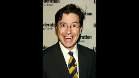 """As a """"correspondent"""" and later an anchor, Colbert developed a character that has been, at turns, pompous, pious and egocentric -- basing the persona on many others in television."""