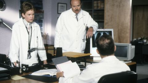 """Harris' budding drama career shifted into high gear in 1989, when he debuted as the genius teen doctor Doogie Howser in the coming-of-age dramedy """"Doogie Howser, M.D."""" Harris pulled off the character's adorable but dweeby personality so well, many viewers started to assume he and Doogie were one in the same."""