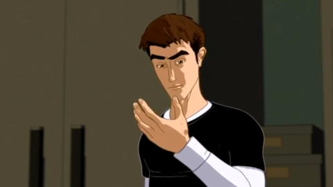 """Like a lot of actors in Hollywood these days, Harris can claim having a heroic alter-ego. In 2003, he returned to voice work as Peter Parker in the animated """"Spider-Man"""" series."""