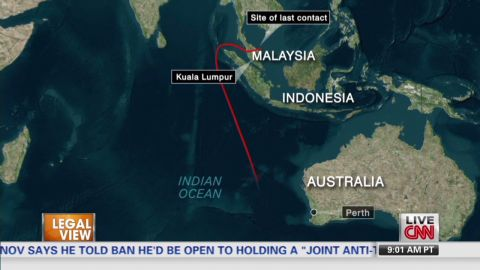 lv malaysia  flight 370 co-pilots cell phone on detected searching_00014401.jpg