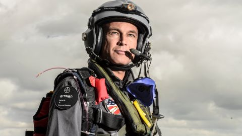 Piccard, who is also a doctor and a psychiatrist, is the first man to fly around the world non-stop in a balloon. He hails from a family of scientists and explorers.