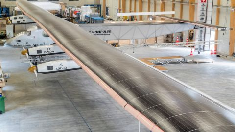 The plane's wings stretch for a massive 72 meters (236 feet).
