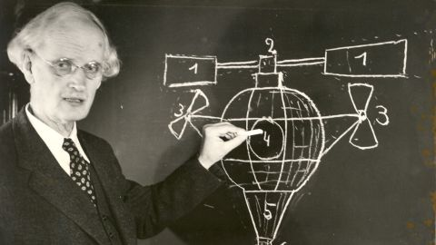 Piccard's grandfather, Auguste Piccard, was a physics professor who helped pave the way for high-altitude navigation by inventing the pressurized cabin. He was also the first person to reach the stratosphere in a balloon.