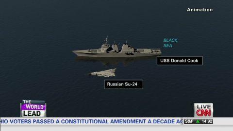 exp Lead vo tapper Russian fighter jet provokes U.S. ship ukraine _00002313.jpg
