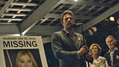"""<strong>""""Gone Girl"""":</strong> was considered surefire movie material practically from the moment Gillian Flynn's book came out in 2012. The movie stars Ben Affleck as a man in a troubled marriage who may -- or may not -- have killed his wife, inviting a media frenzy."""